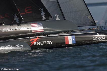 AVeneziatrionfa Energy Team. I francesi hanno vinto l&#039;ultima regata di flotta e si sono aggiudicati la classifica delle ACWorld Series dellAmerica&#039;s Cup