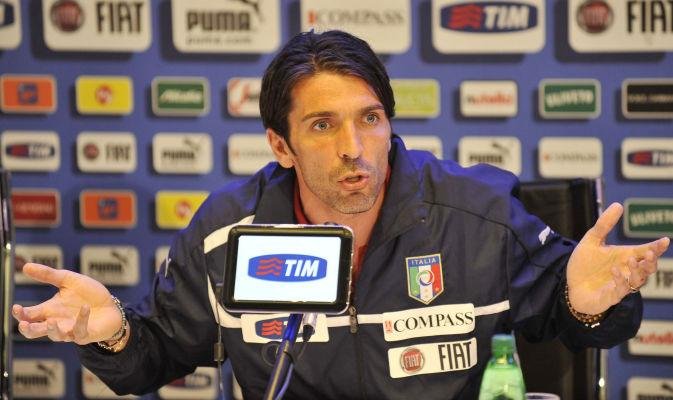Gianluigi Buffon ha parlato in conferenza stampa a Coverciano