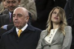 Adriano Galliani con Barbara Berlusconi