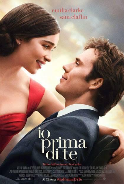 Me before you, la locandina